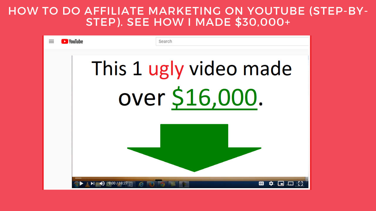 how to do affiliate marketing on youtube step-by-step