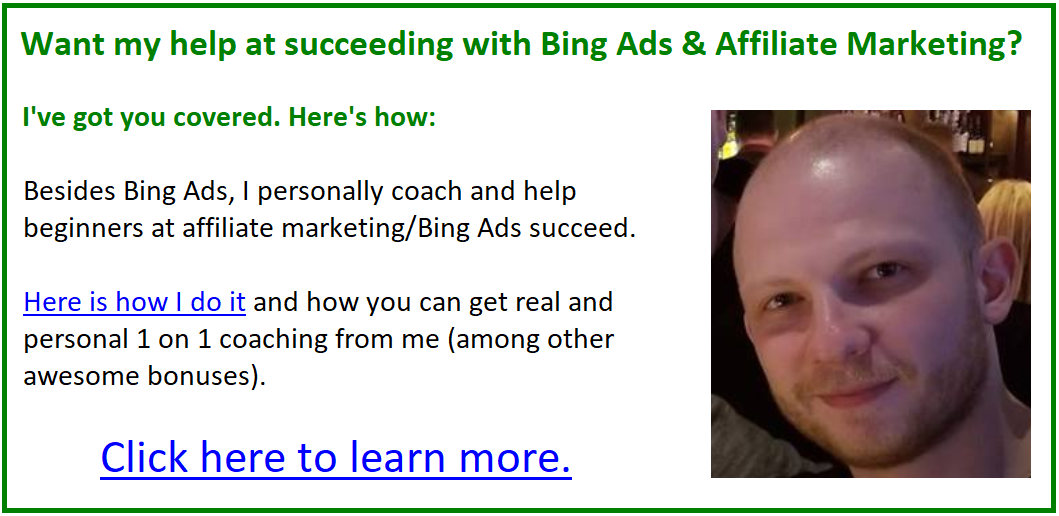 bing ads hha article under video embed