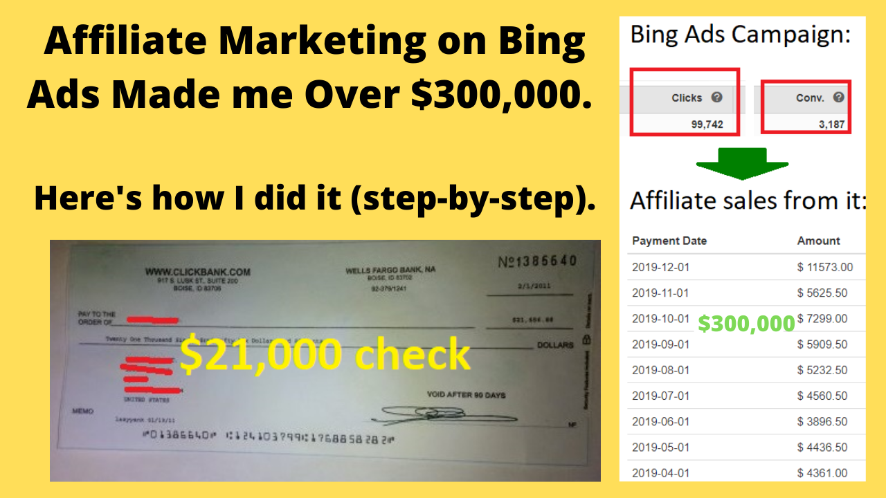 How to do affiliate marketing on Bing Ads