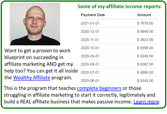 affiliate product reviews cta example 2
