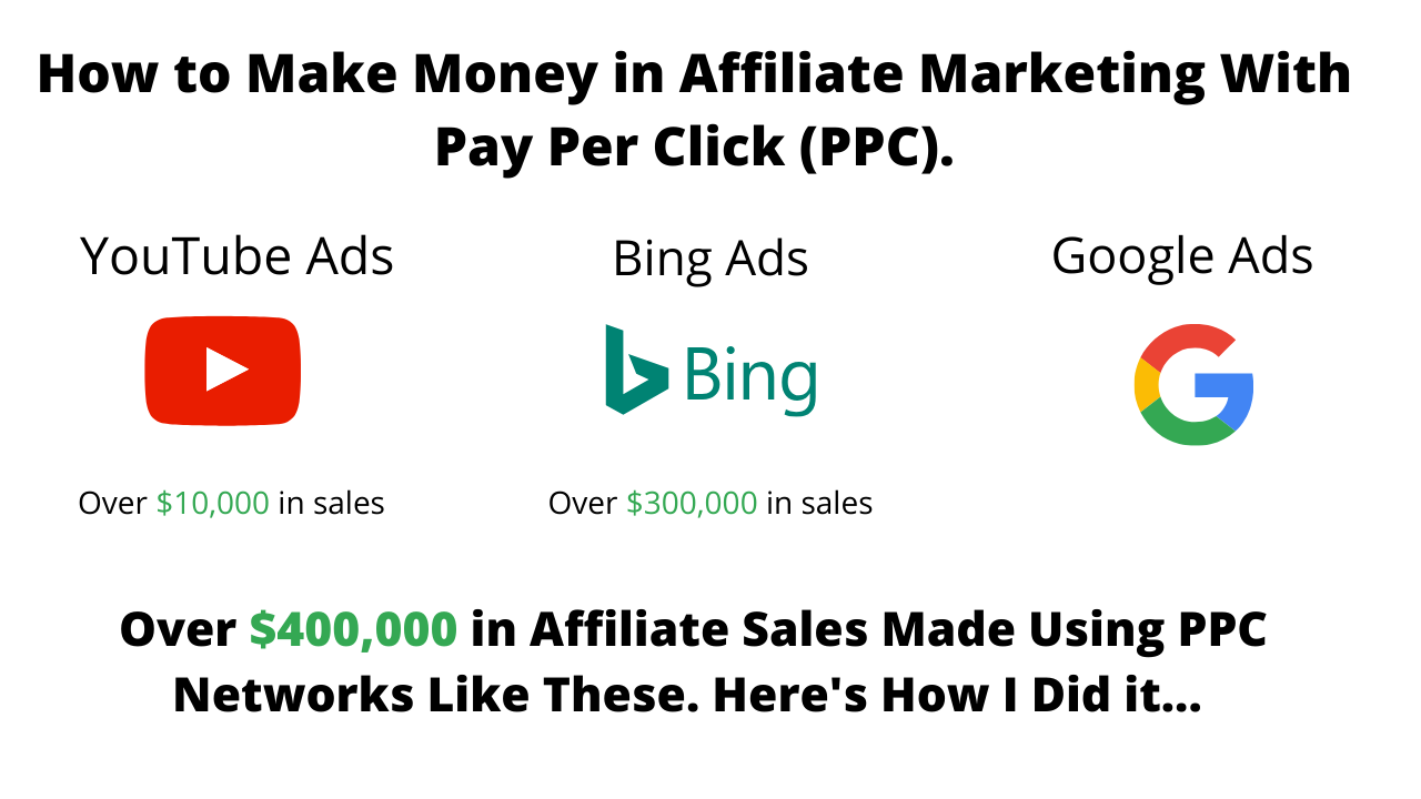 how to make money in affiliate marketing with pay per click