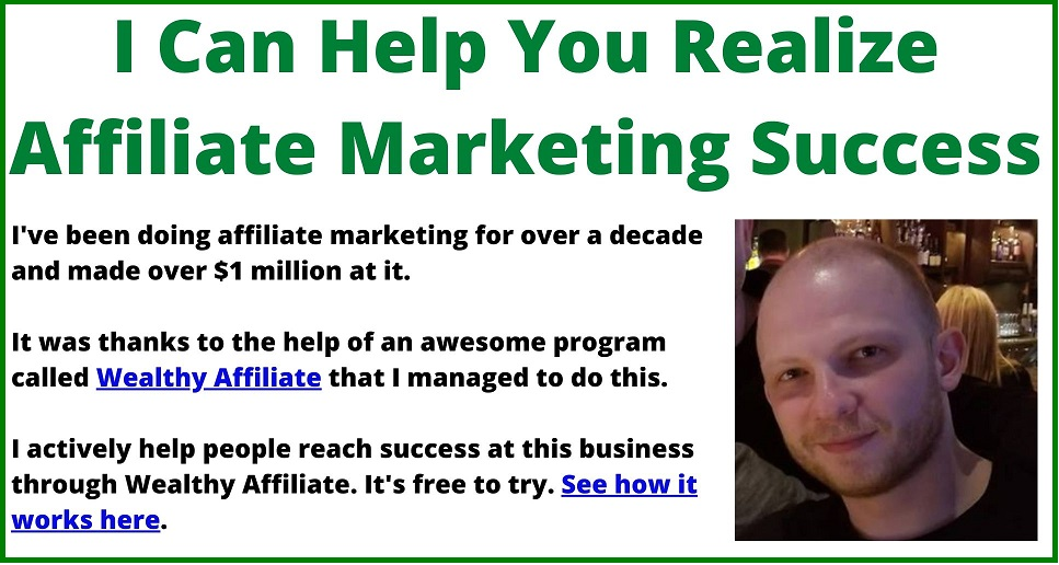 reaching affiliate marketing success