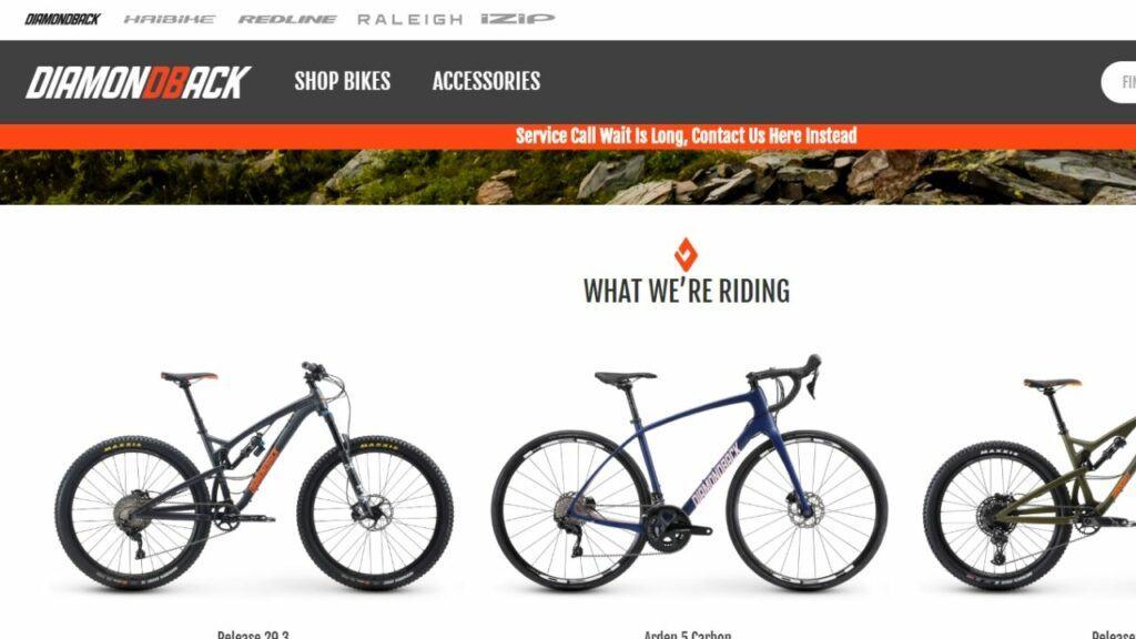 diamond back mountain bike affiliate program