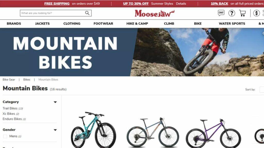 moose jaw mountain bike affiliate program