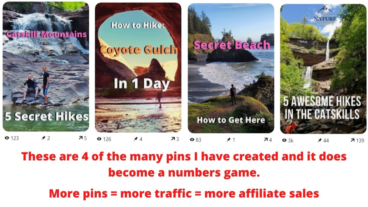 examples of good pins on pinterest that get clicks