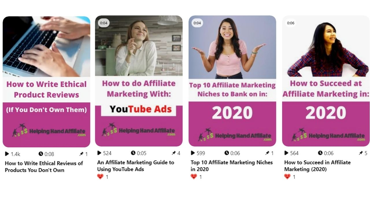 pinterest video pins for affiliate marketing