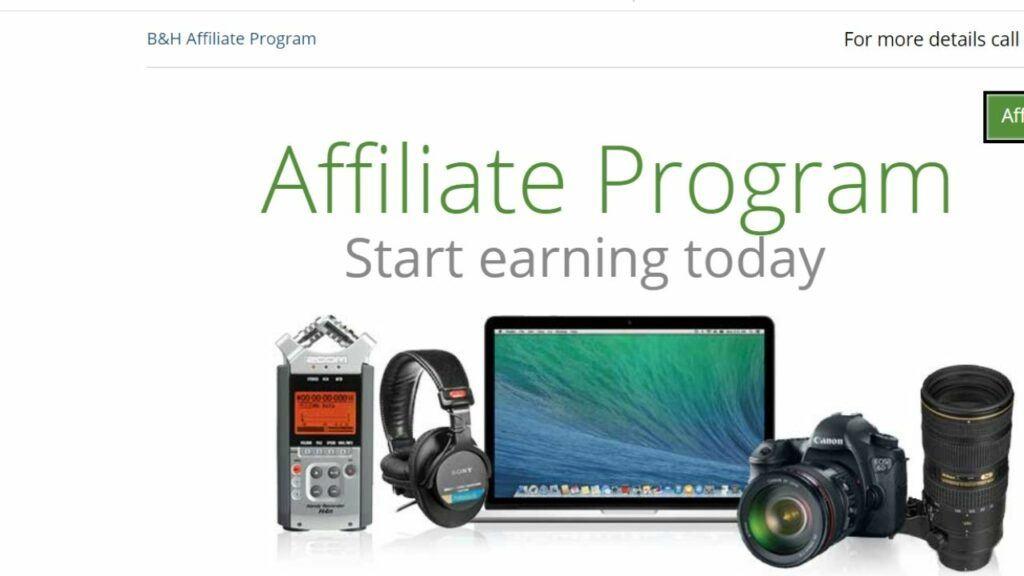 B&H photo drone affiliate program