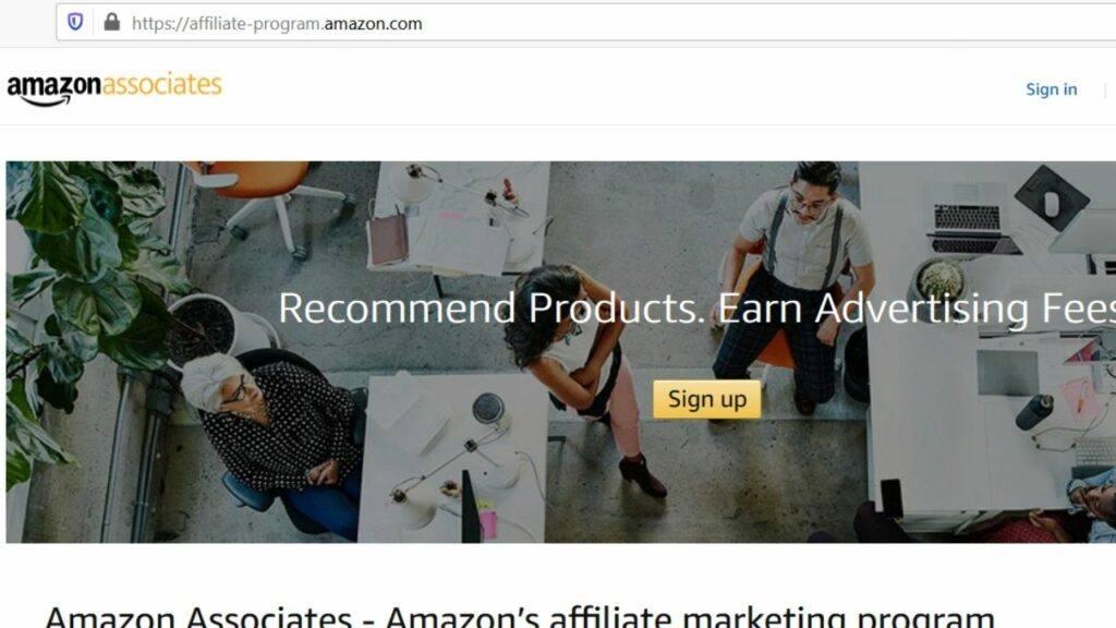 amazon associates drone affiliate program