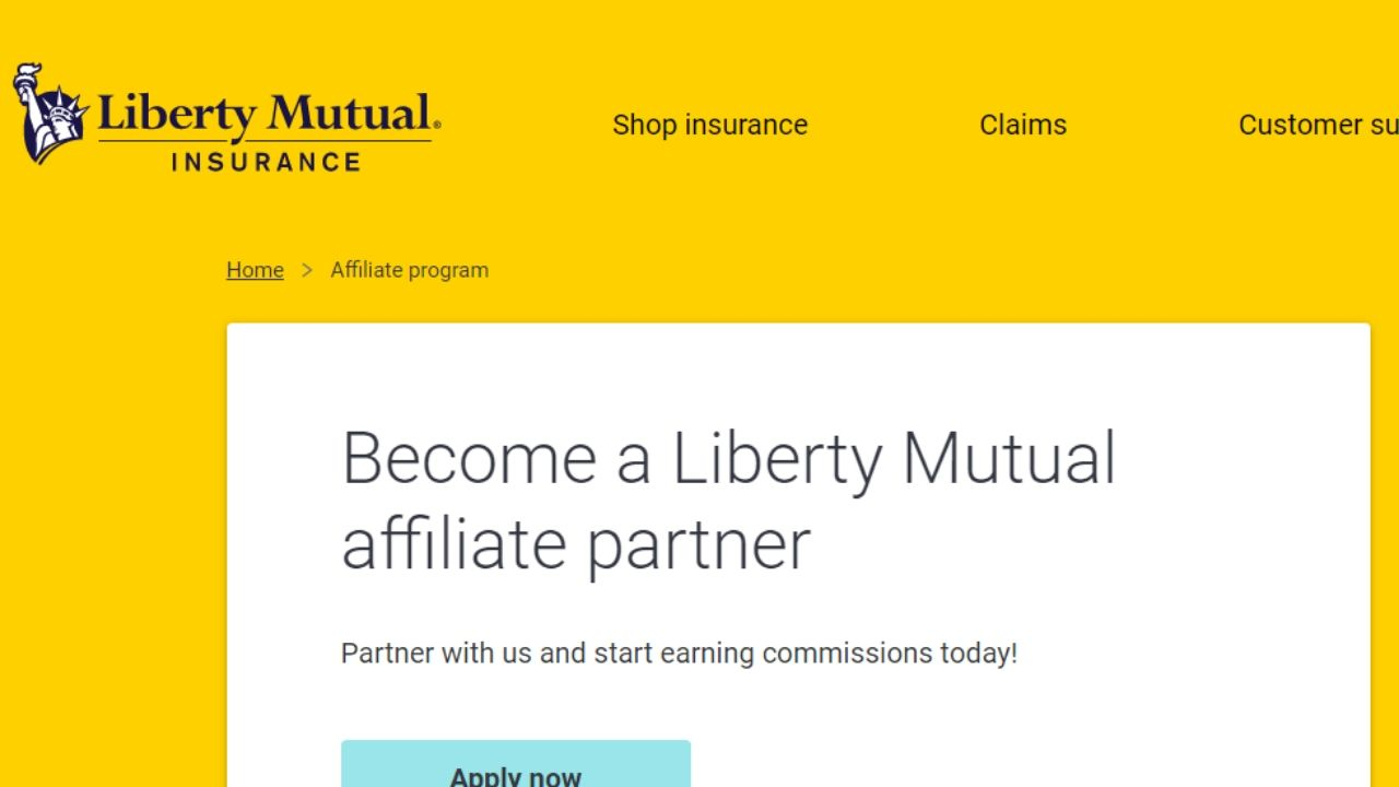 liberty mutual car insurance affiliate program