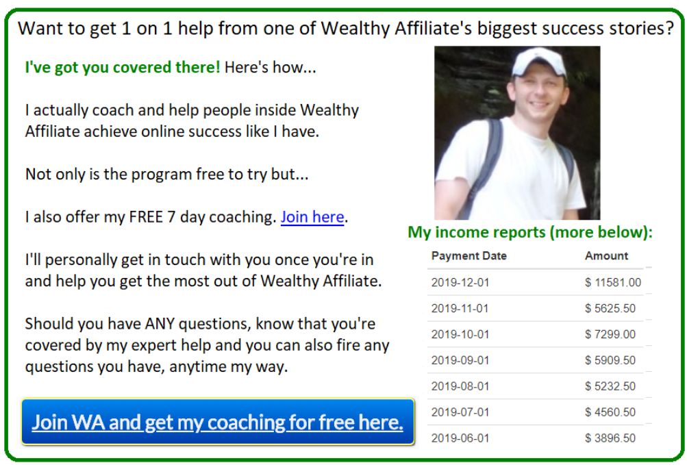 where to post affiliate links example