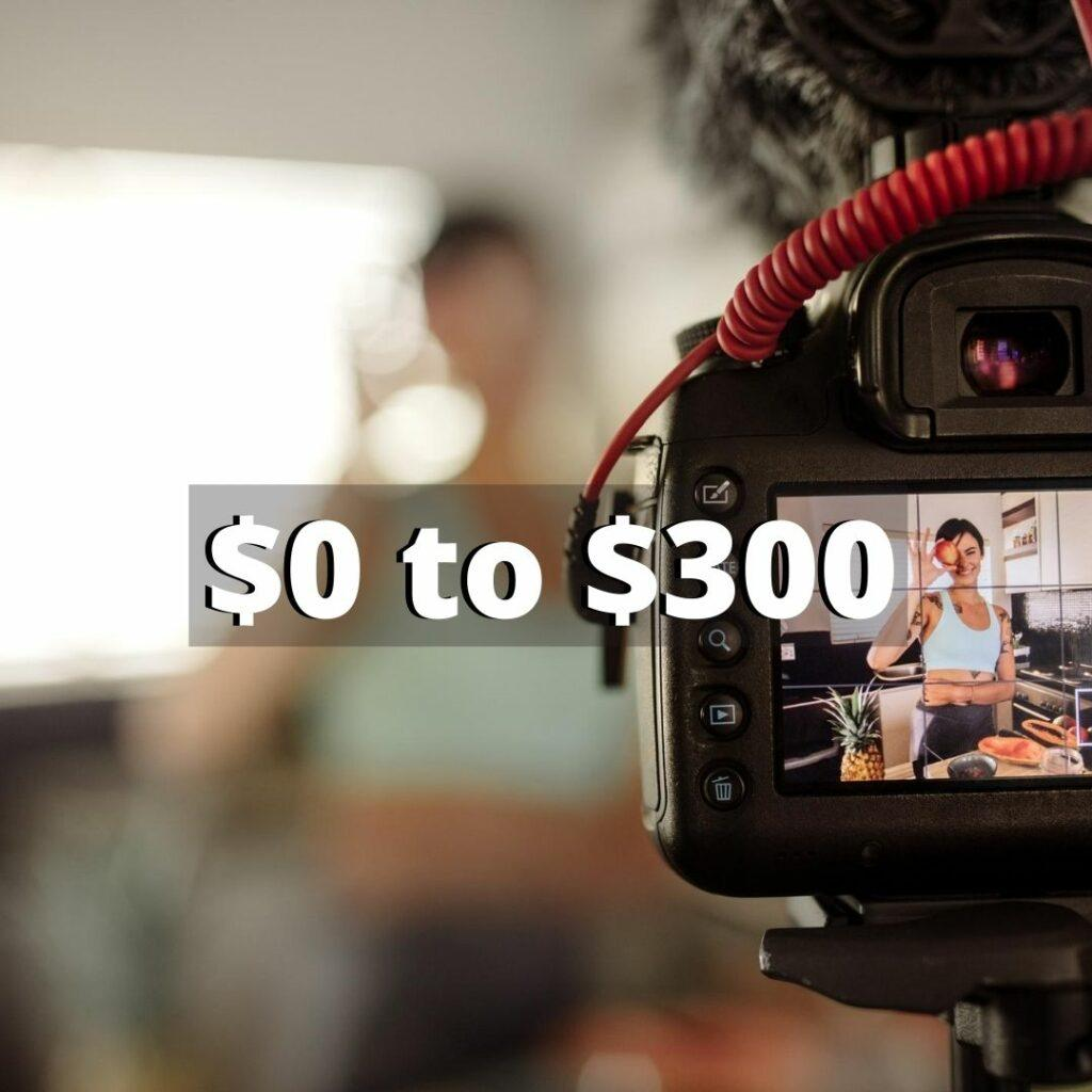how much does it cost to do affiliate marketing with youtube