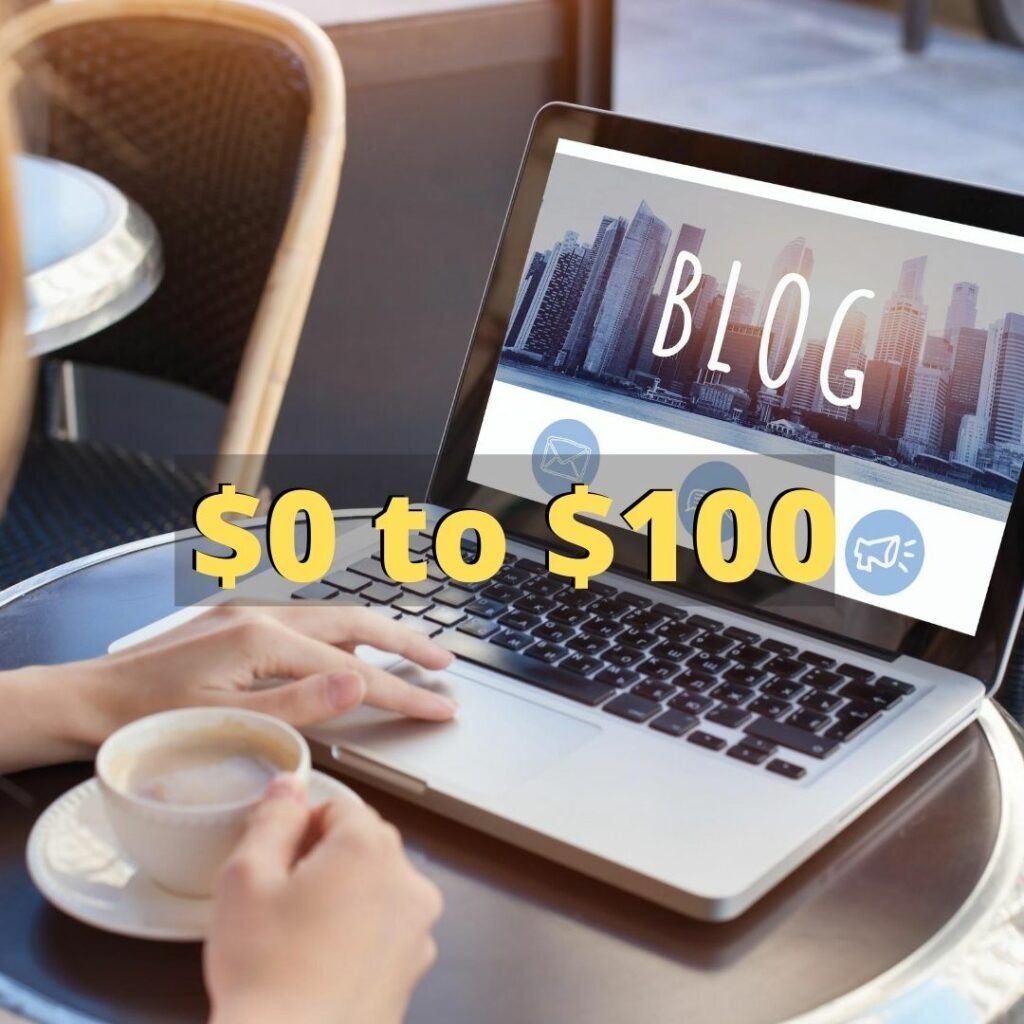 how much does it cost to start an affiliate marketing blog