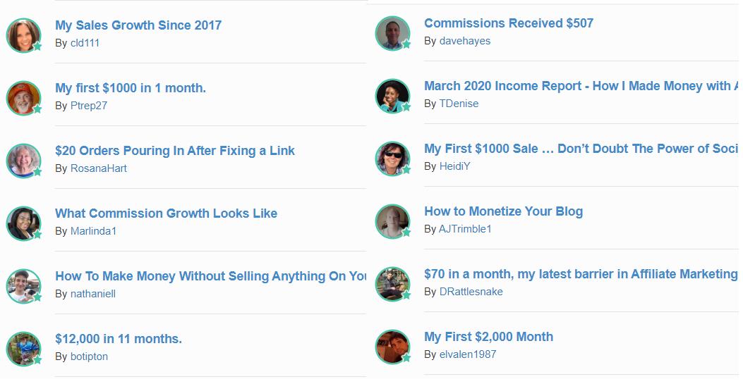 wealthy affiliate success stories 2