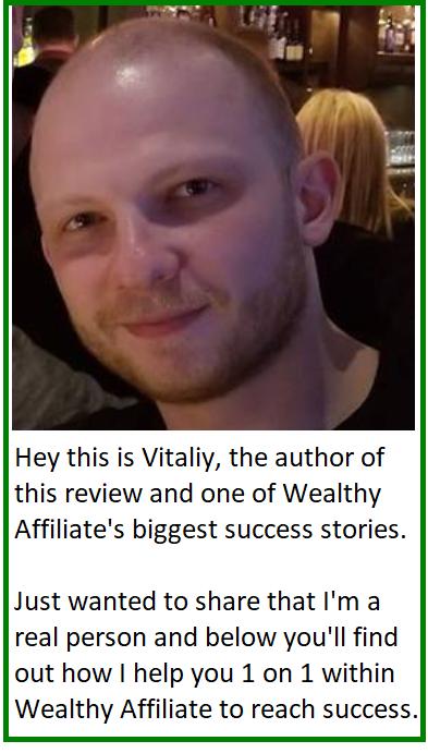 wealthy affiliate vitaliy