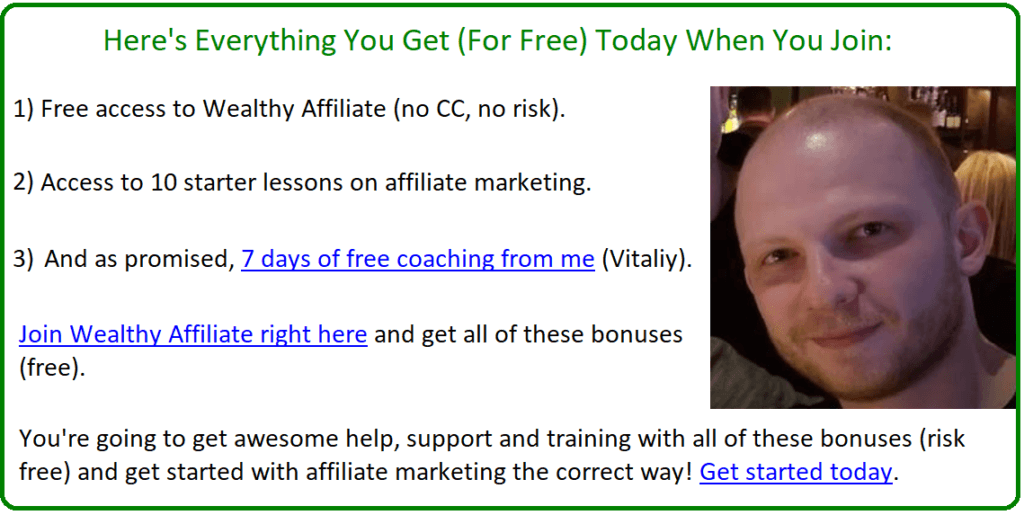 helping hand affiliate coaching offer