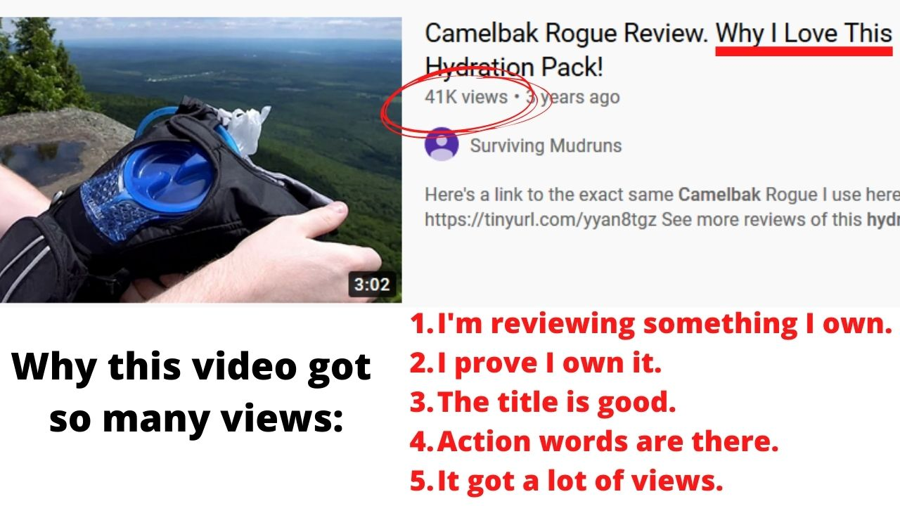 youtube case study video that got 30,000 views