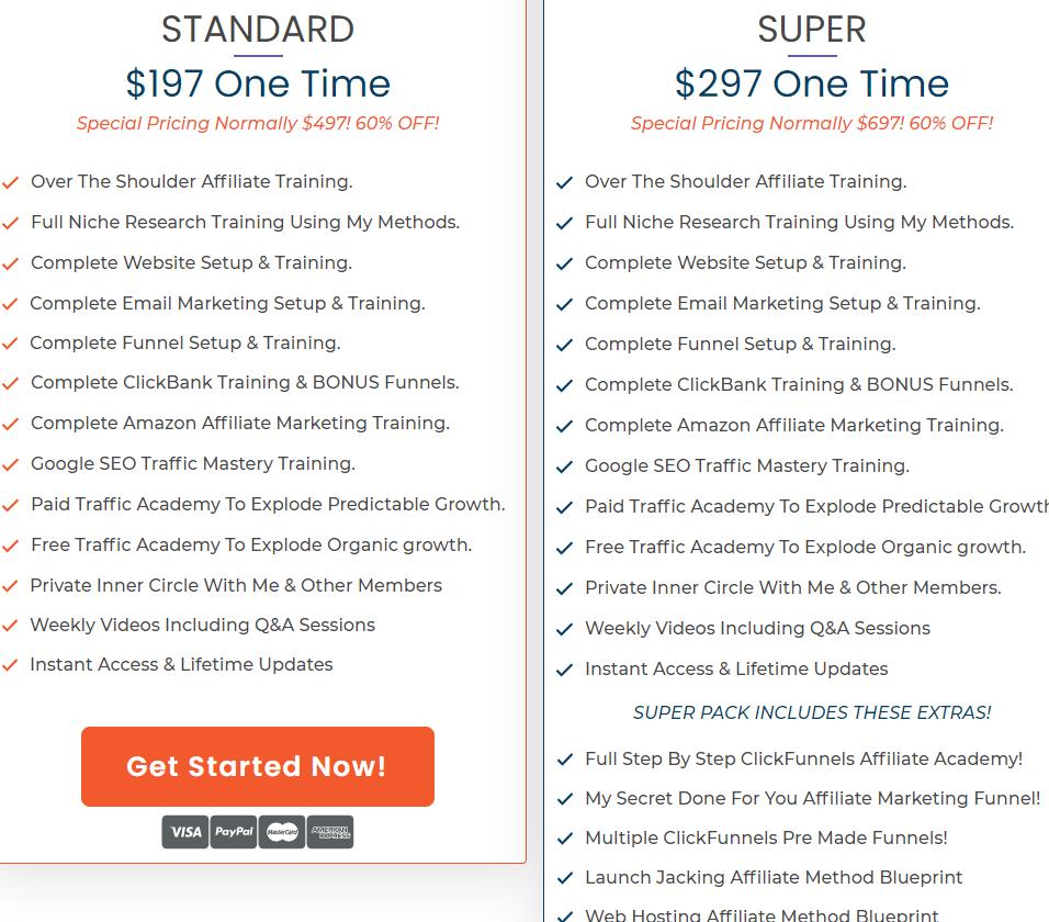 savage affiliates membership pricing