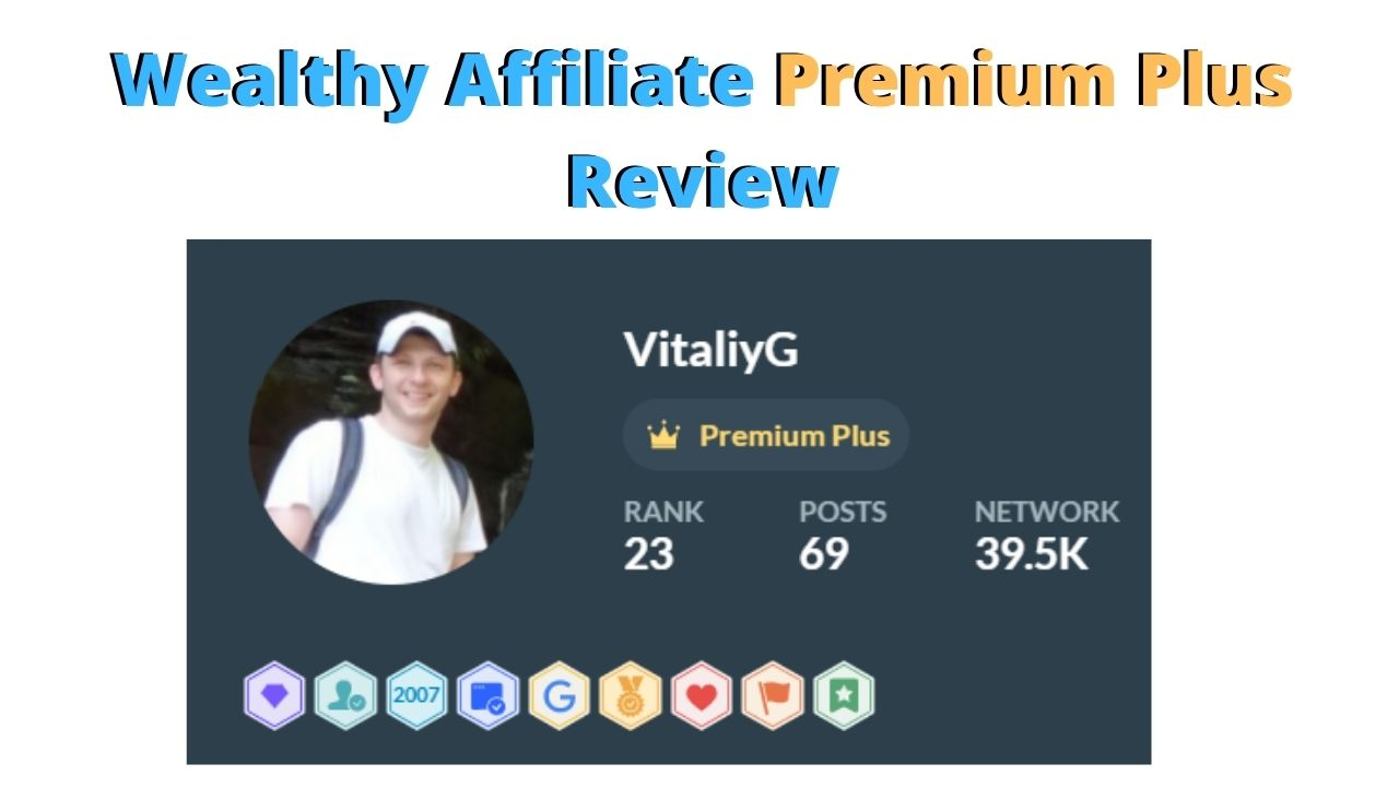 wealthy affiliate premium plus review