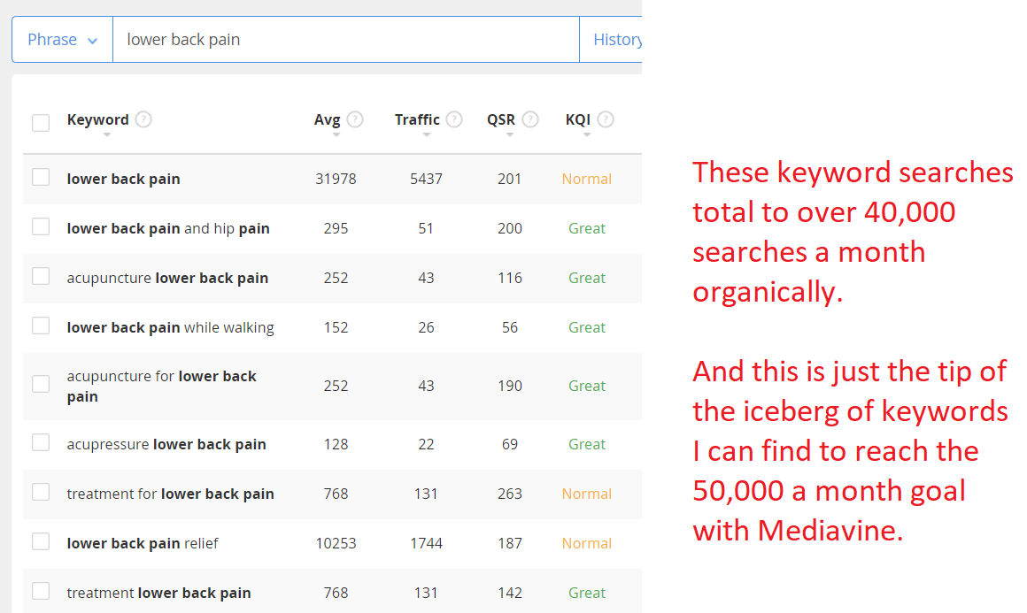 how to get more traffic to your website to get approved by mediavine