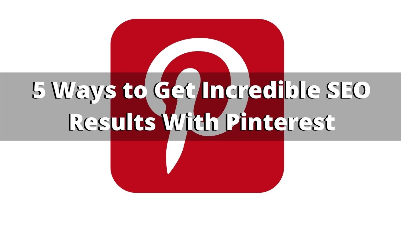 how to use pinterest for SEO