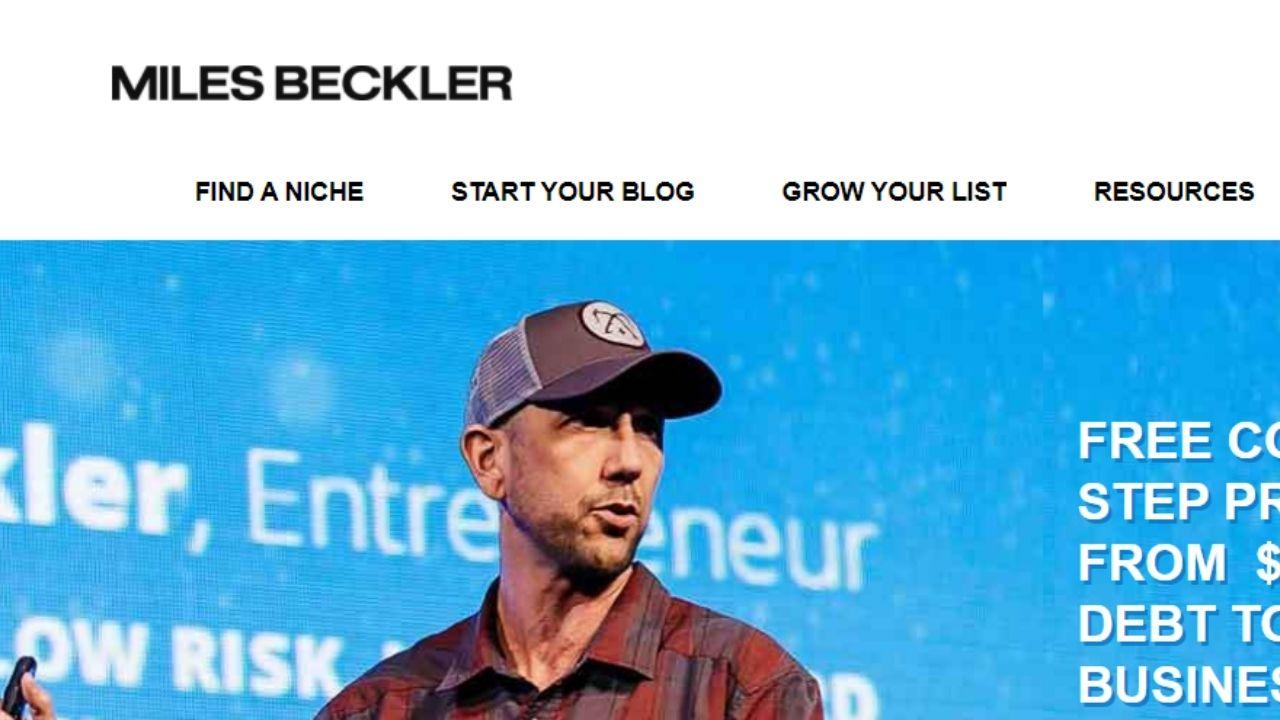 miles beckler courses review screenshot
