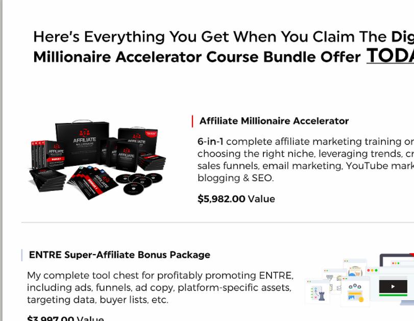 entre institute affiliate millionaire accelerator