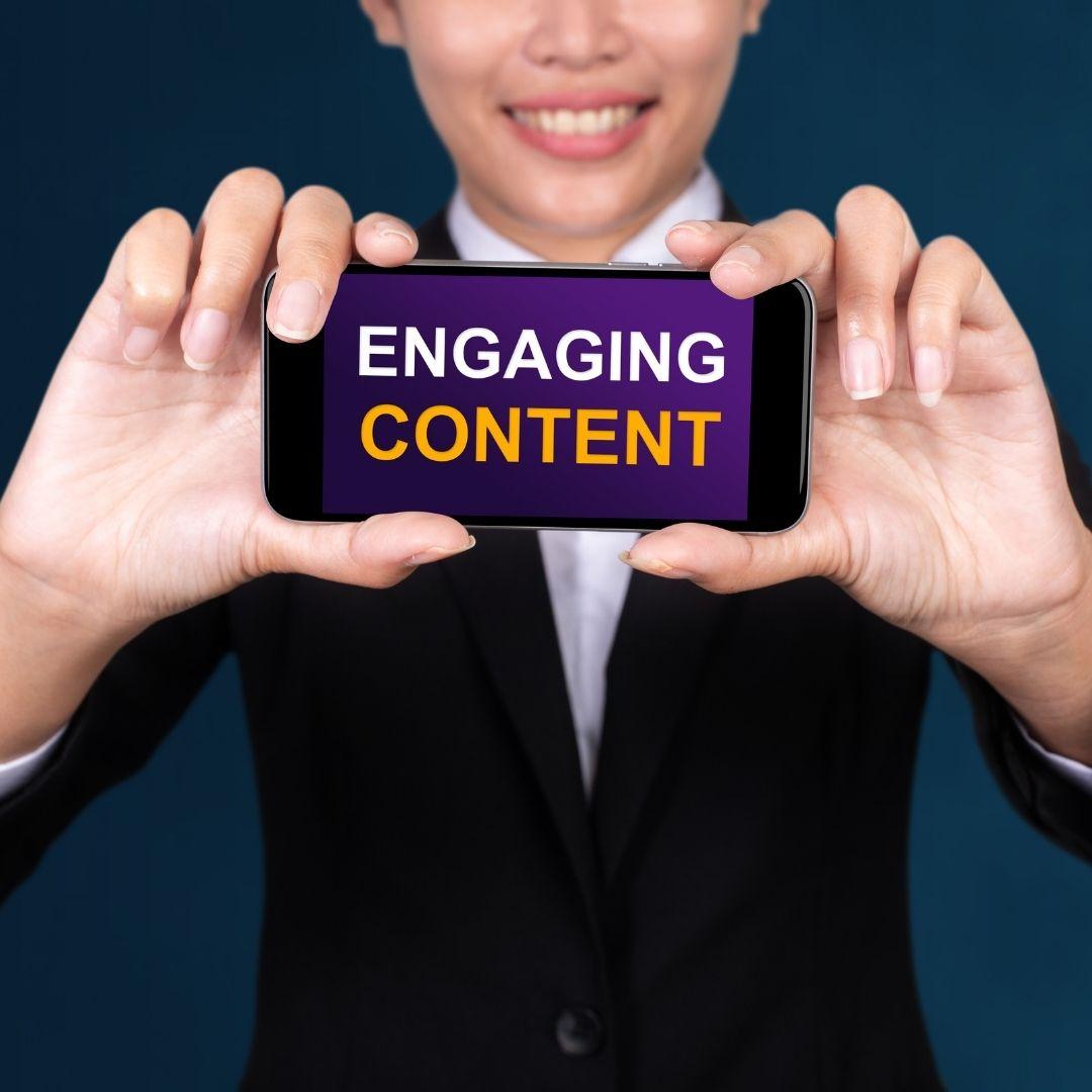 quality content creates a legitimate affiliate marketing business