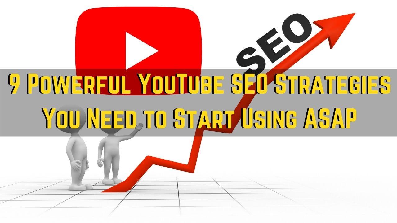 youtube seo strategies