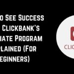 clickbank affiliate program explained