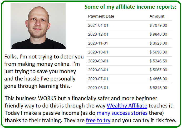 wealthy affiliate vs email startup incubator