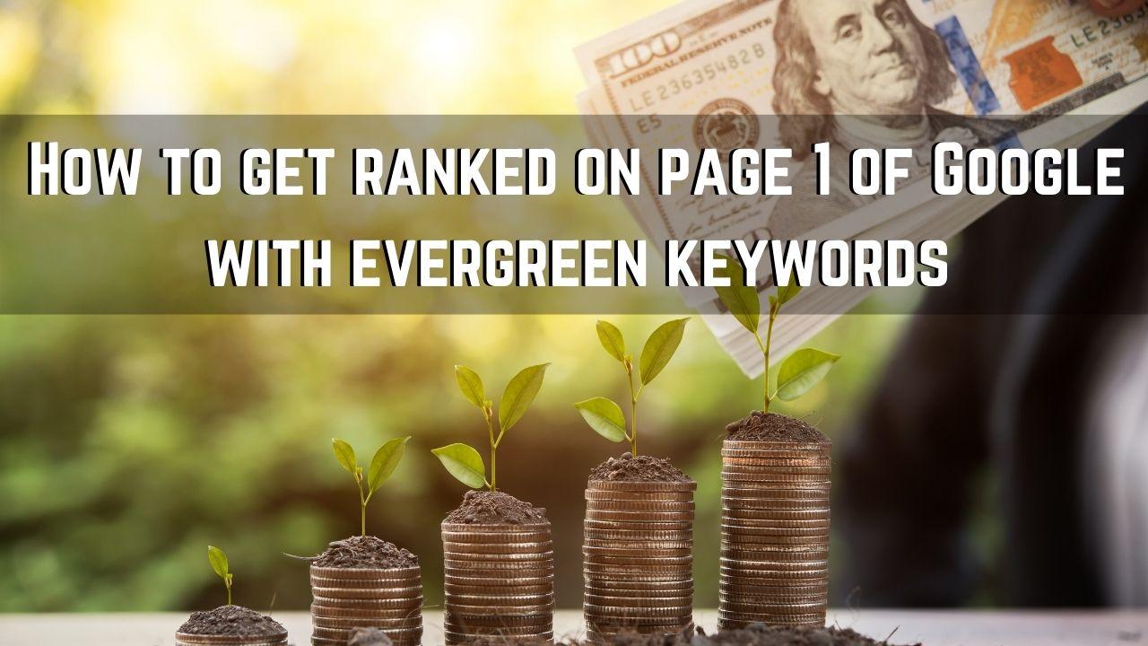 evergreen keywords