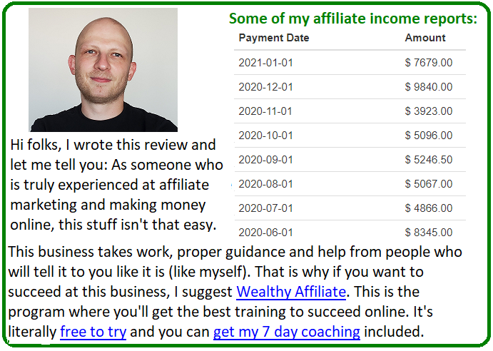 1 page profits alternative