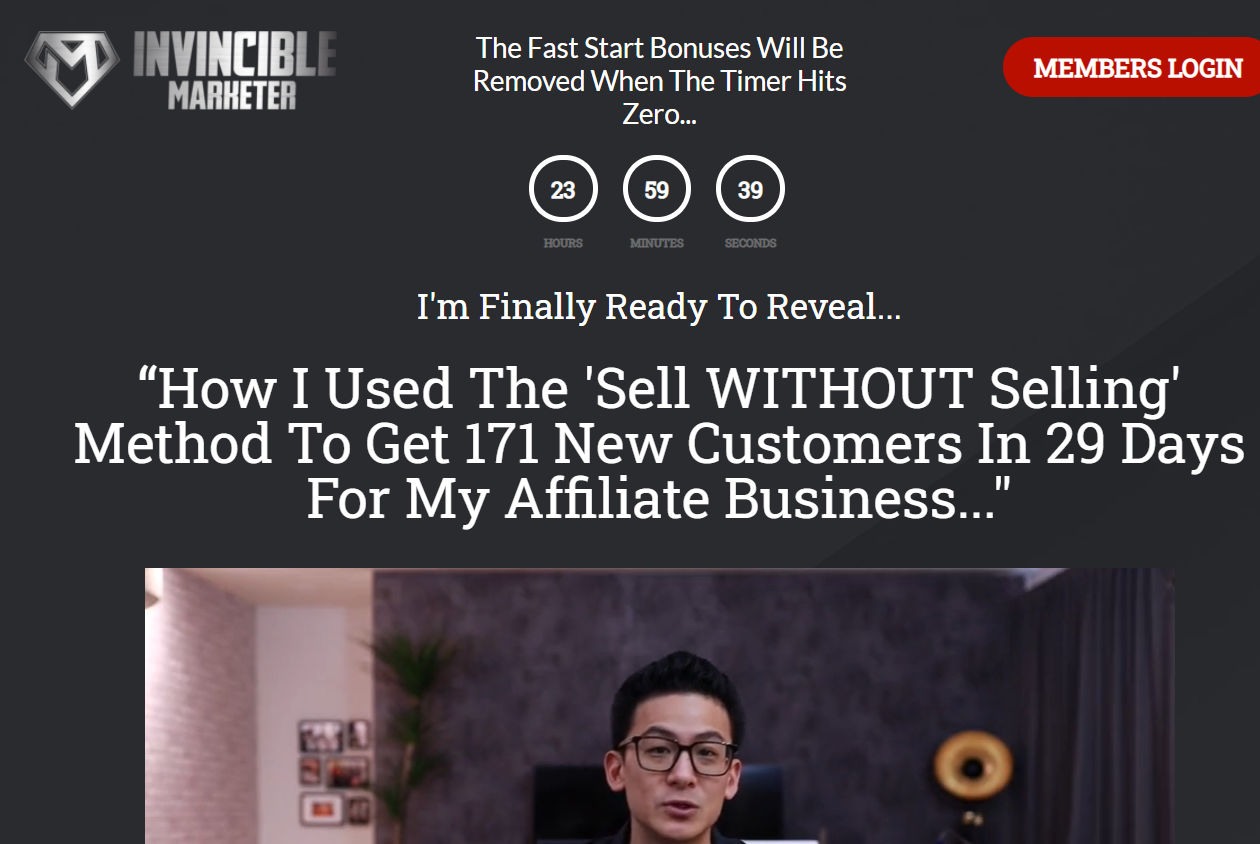 the invincible marketer review