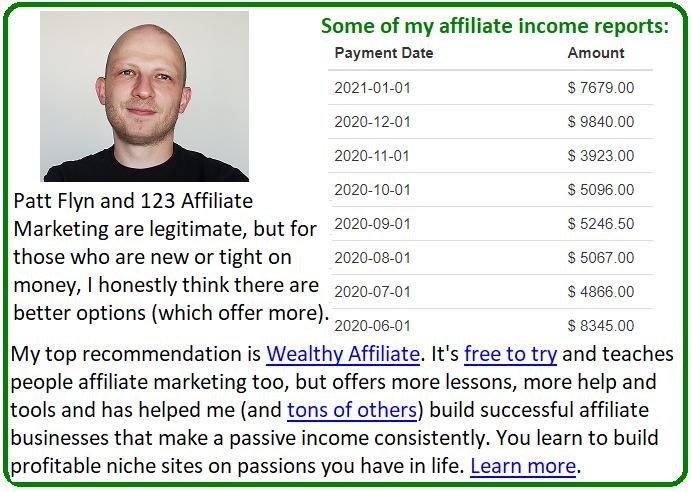 123 affiliate marketing alternative