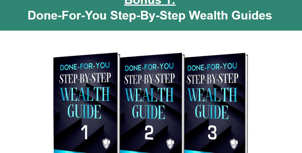 recession profit secrets wealth guide screenshot